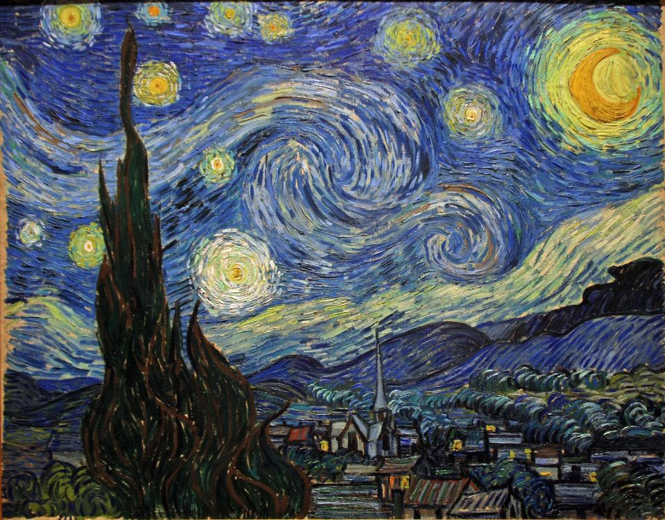 VincentVanGogh StarryNight